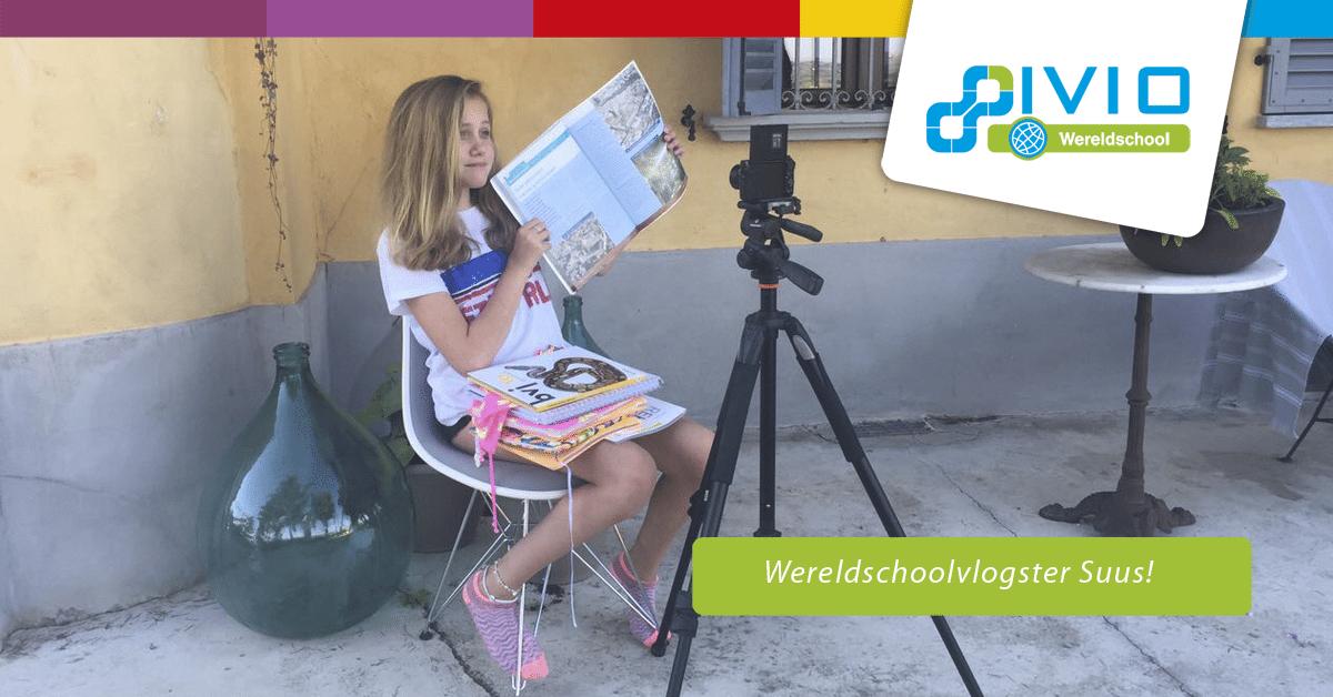 Wereldschoolvlogster Suus
