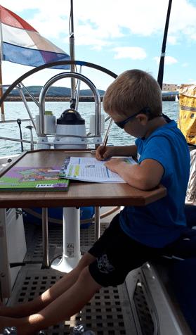 wereldreis leerplichtige kinderen