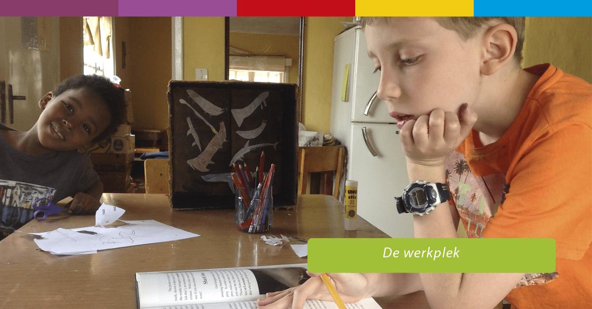 Werkplek huiswerk