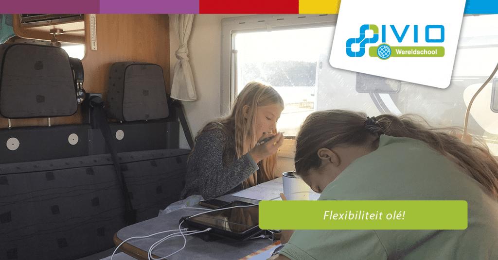 flexibiliteit wereldschool afstandsonderwijs