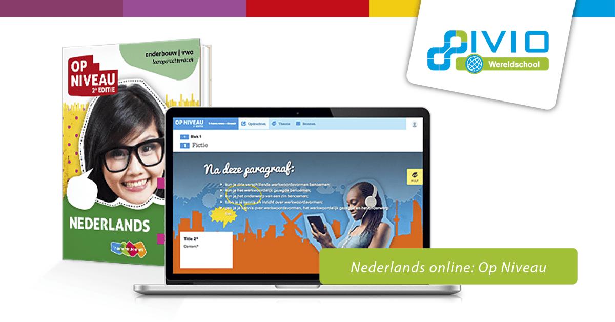Nederlands online, online Nederlandse lessen