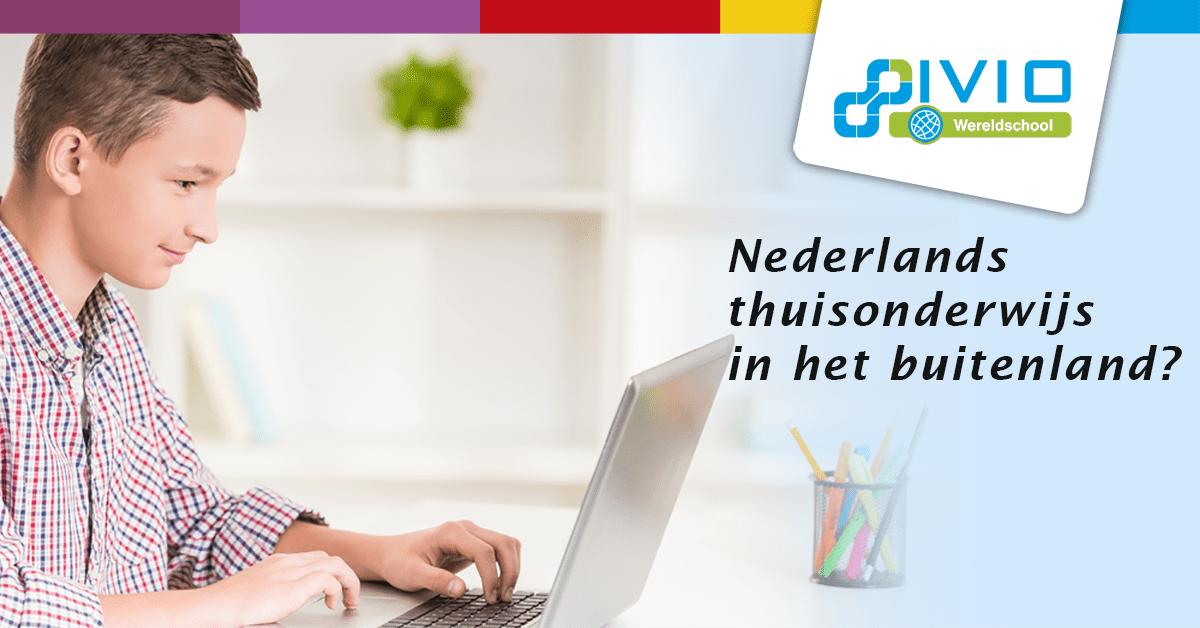 Nederlands thuisonderwijs in het buitenland