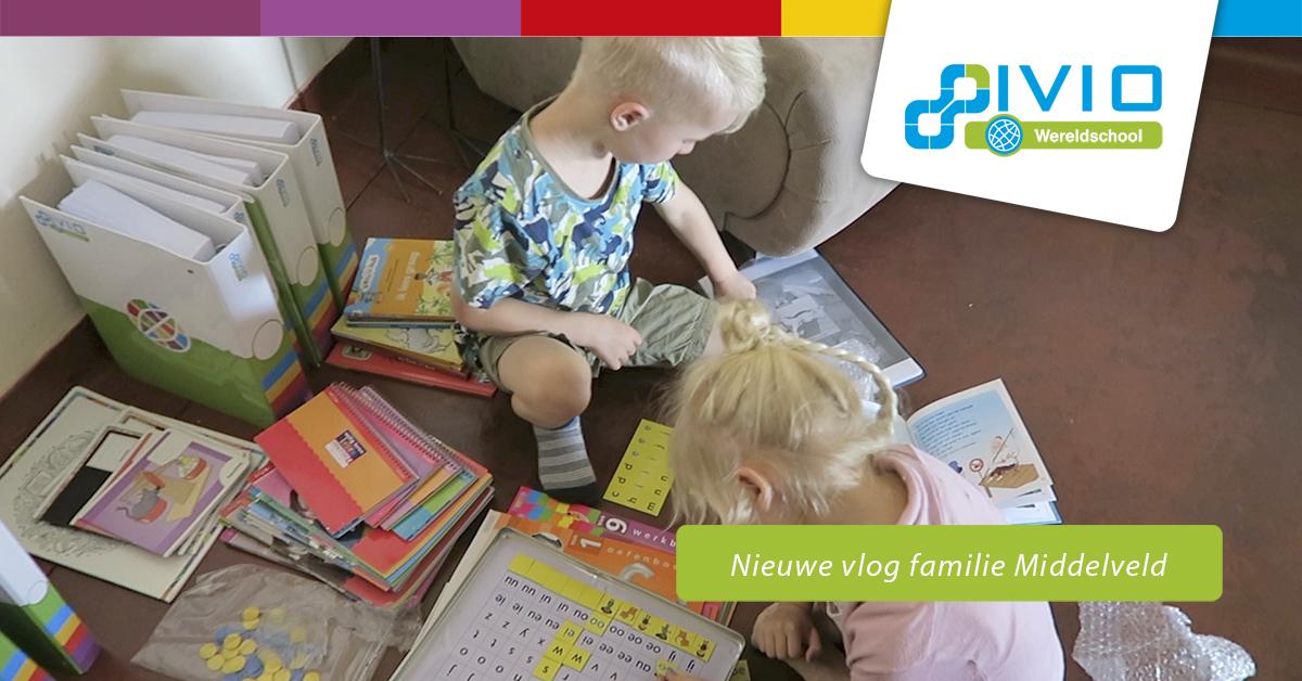 voorbereiden homeschooling familie middelveld