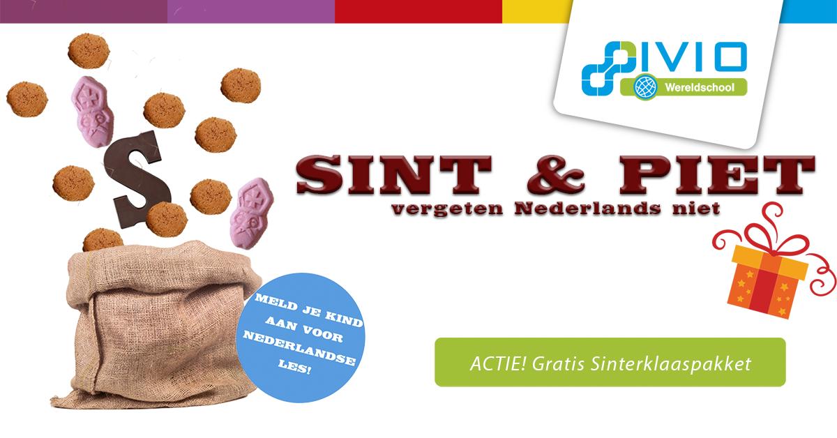 Sinterklaasactie nederlandse les Wereldschool