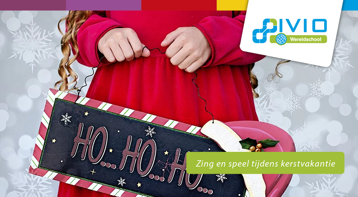 zing en speel tijdens kerstvakantie