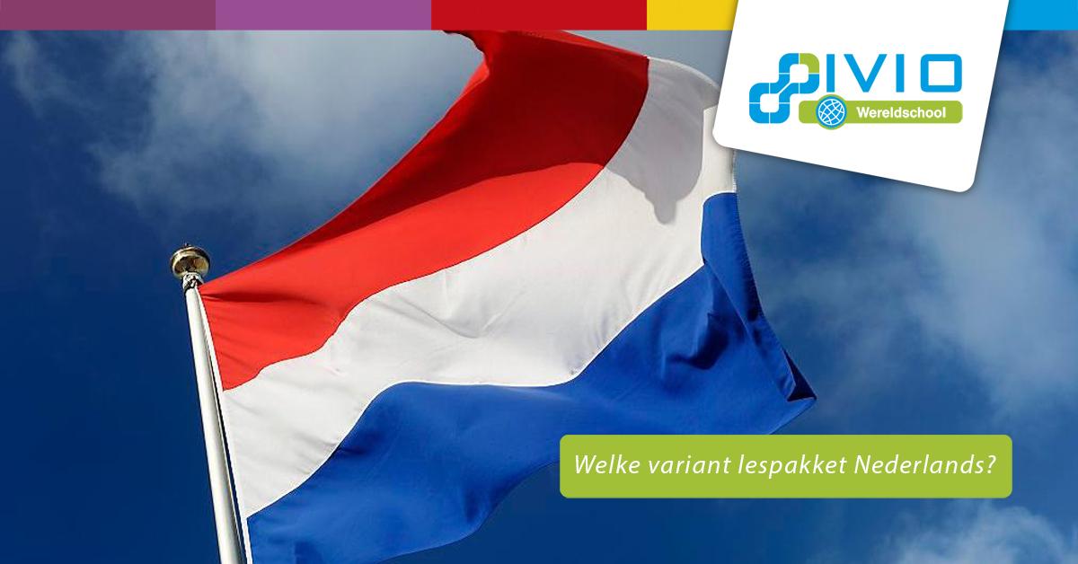 Welk Nederlands lespakket kiezen