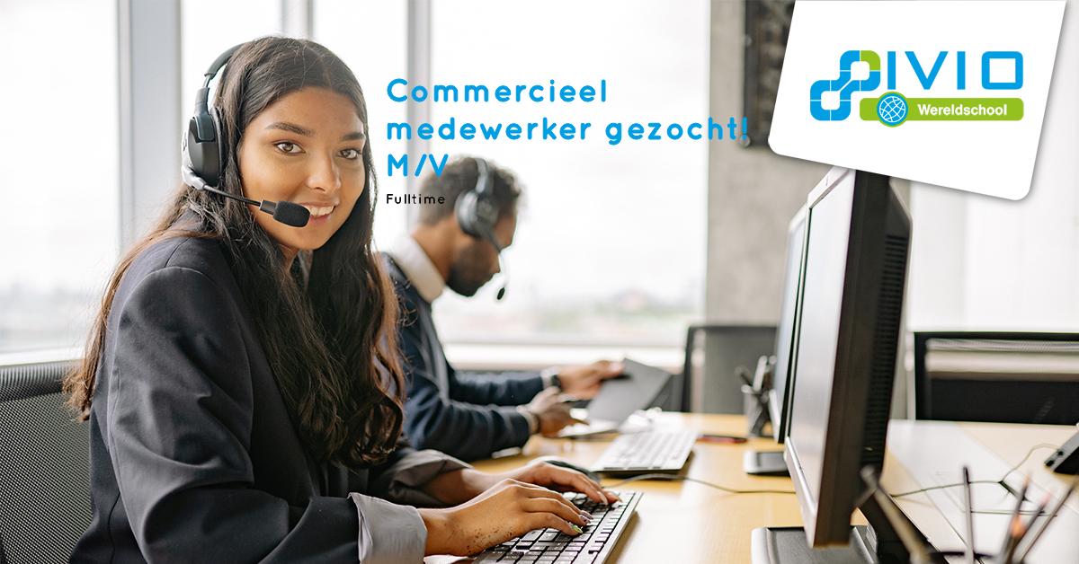 Vacature commercieel medewerker fulltime Lelystad
